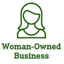 Woman Owned business icon